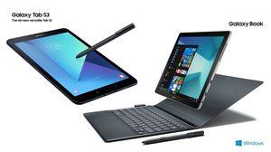 Samsung เปิดตัว Galaxy Tab S3 และ Galaxy Book แท็บเล็ต 2 รุ่นล่าสุด มาพร้อมปากกา S Pen