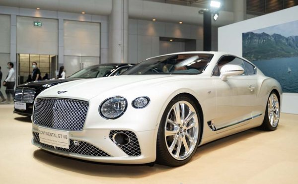 The Continental GT V8