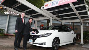 การไฟฟ้านครหลวงและ Nissan ร่วมลงนามความร่วมมือในดำเนินการติดตั้ง เครื่องอัดประจุไฟฟ้า ในที่พักอาศัย
