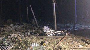 สยอง!! พลุระเบิด ทำคนเสียชีวิต 6 ศพคาบ้านพักที่สุพรรณบุรี