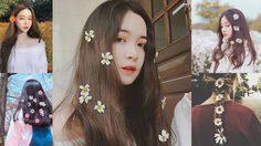 ไอเดียถ่ายรูป ผมกับดอกไม้