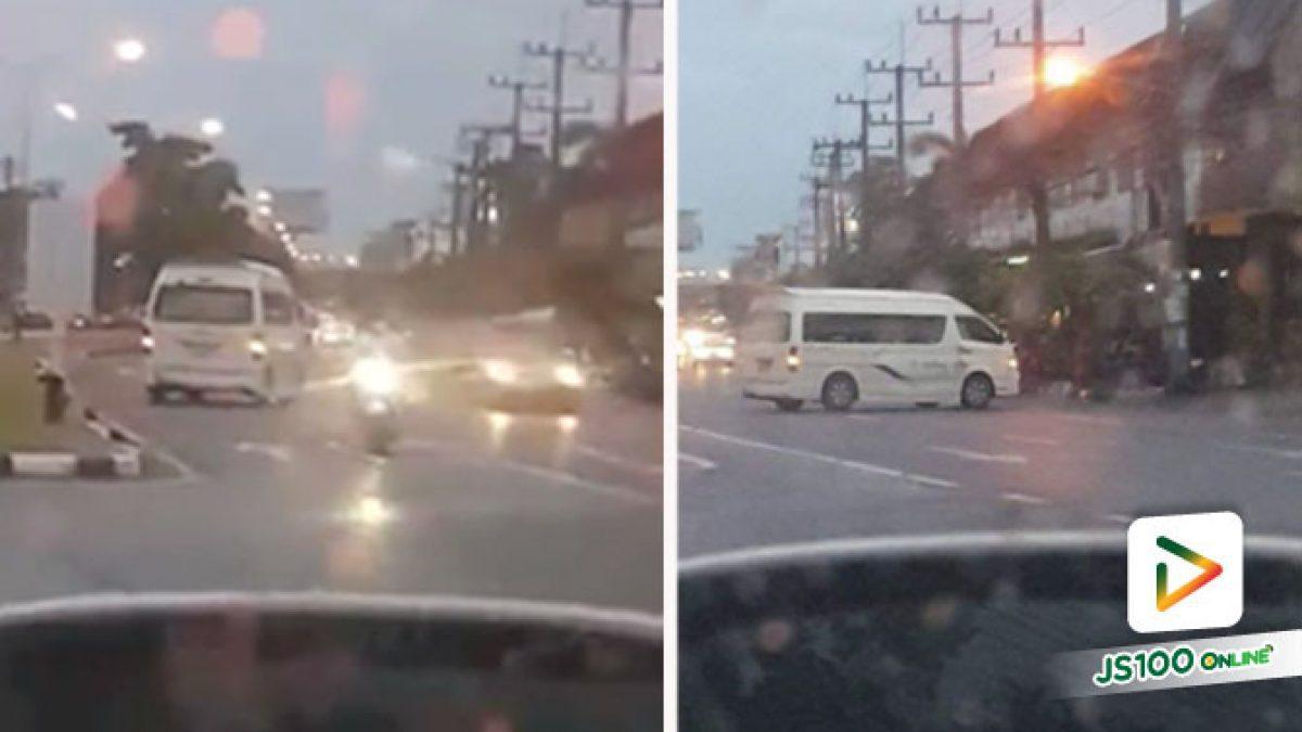 ดูแล้วรถโล่งอยู่ ขอมักง่ายย้อนศรเลนกลับรถแล้วข้ามถนนซะเลย.. (14/07/2020)