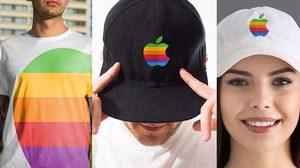 Apple รีเทิร์น โลโก้สีรุ้ง กลับมาจดทะเบียนเตรียมดูดเงินสายแฟชั่น!!