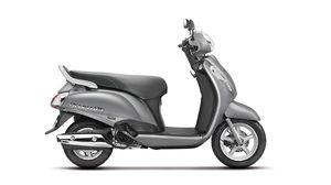 Suzuki Access 125เงาวับกับสี Metallic Sonic Silver