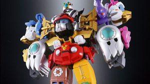โชโกคิน โรโบ Walt Disney รวมร่างเป็นหุ่นยนต์ยักษ์ห้าสีแบบญี่ปุ่น