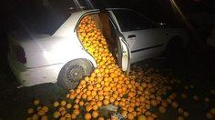 โลภมากไปหน่อย!! โจรแสบหวังขโมย ส้ม ถึง 4 ตัน ด้วยรถเก๋งเพียงสองคันเท่านั้น