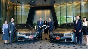 บีเอ็มดับเบิลยู ประเทศไทย ร่วมกับโรงแรมพาร์ค ไฮแอท กรุงเทพฯ มอบประสบการณ์พรีเมียมให้แก่ผู้เข้าพัก ด้วยรถยนต์บีเอ็มดับเบิลยูซีรีส์ 7 และ X5