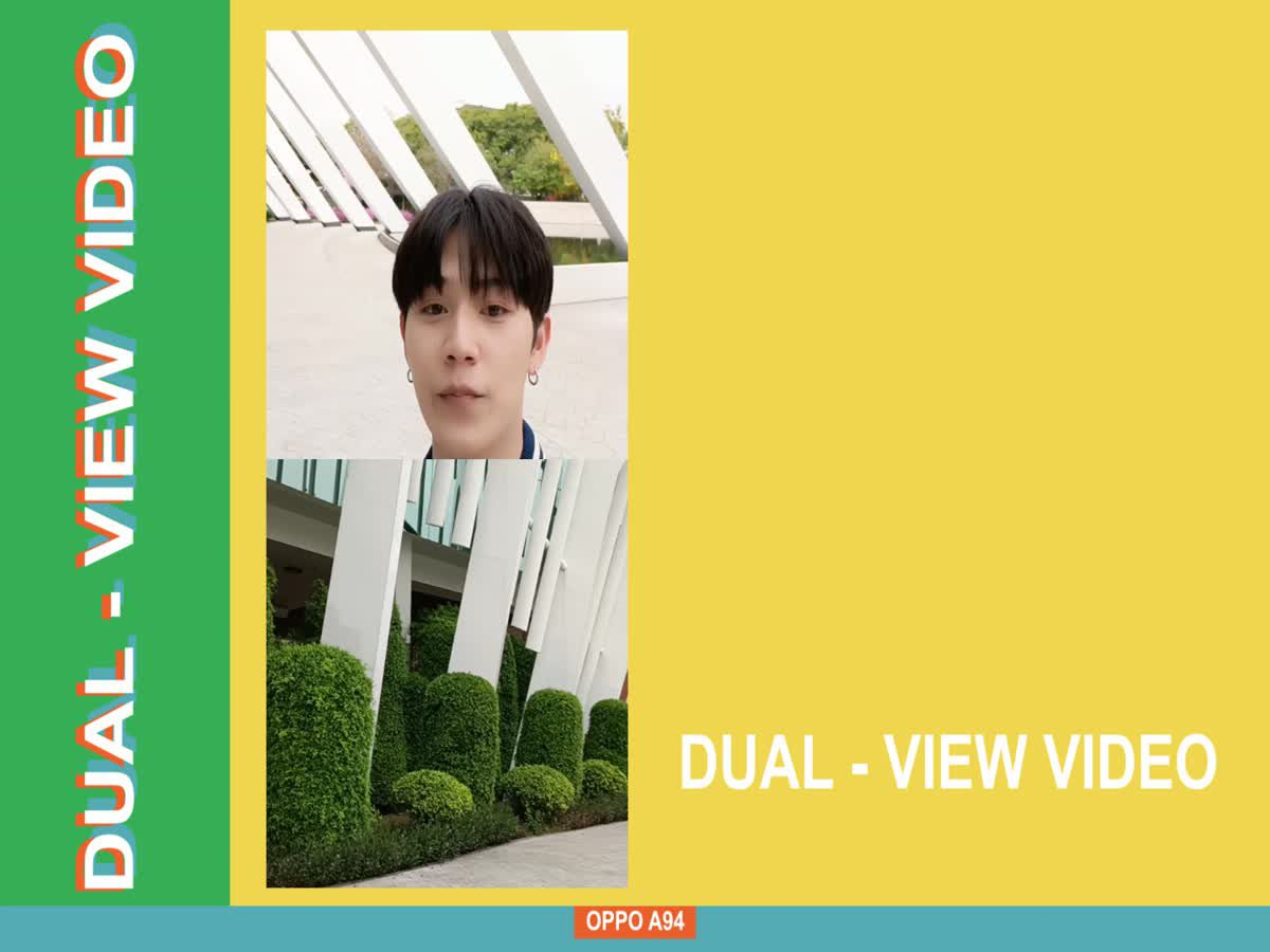 OPPO A94 | Dual-View Video