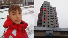 เด็กหนุ่มชาวยูเครนกระโดดตึก 14 ชั้นลงมาสู่ความตาย เพราะ ร่มชูชีพ ไม่กาง…..!!