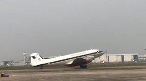 กองทัพอากาศจัดเครื่องบิน BT-67 บินโปรยละอองน้ำ บรรเทาปัญหาฝุ่นละออง