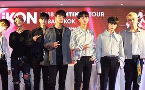 โฟร์วันวันฯ พา iKON แถลงข่าวกับสื่อไทย ก่อนเสิร์ฟคอนเสิร์ตใหญ่