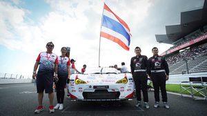 """2 นักแข่งไทย กับเส้นทางความสำเร็จ เป้าหมายคือยืนโพเดียม รายการใหญ่ของเอเชีย  """"Super GT 2017"""" บนแทรคระดับโลก"""