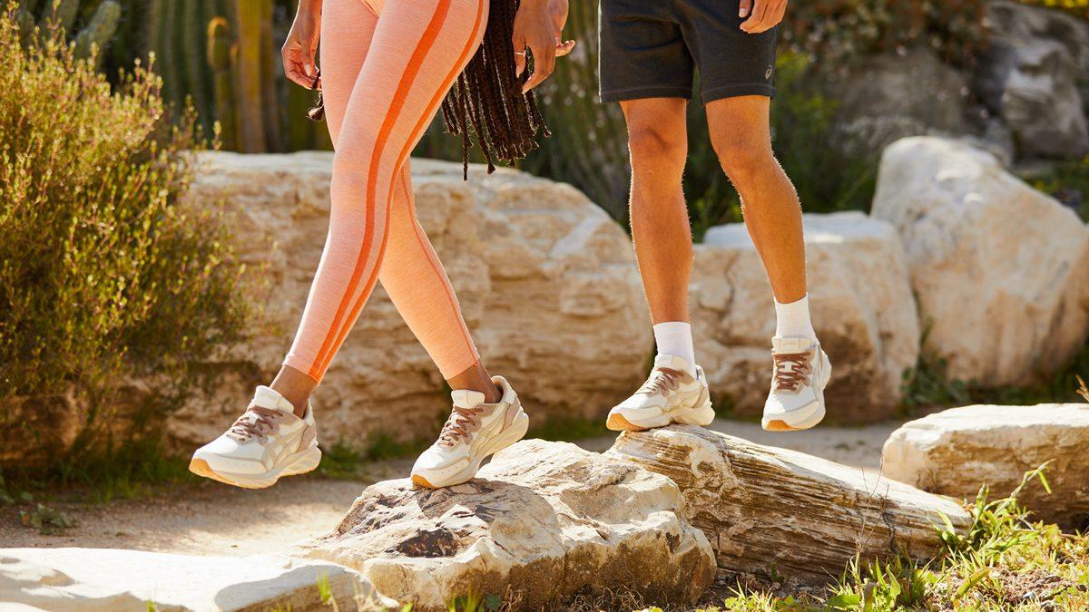 รองเท้าเป็นมิตรต่อสิ่งแวดล้อม ASICS คอลเลคชั่น EARTH DAY PACK