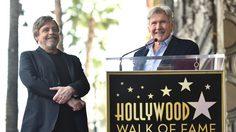 แฮร์ริสัน ฟอร์ด และ จอร์จ ลูคัส ร่วมยินดี มาร์ก ฮามิล จารึกชื่อใน Hollywood Walk of Fame
