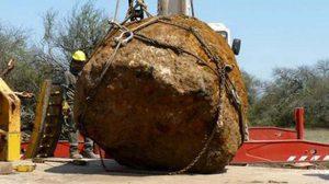 พบอุกกาบาตใหญ่อันดับ 2 ของโลก หนัก 30 ตัน ฝังใต้ดิน 4 พันปี