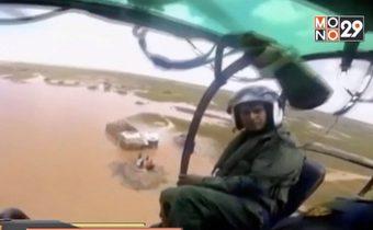 ทีมกู้ภัยยังปฏิบัติหน้าที่ช่วยผู้ประสบภัยจากพายุในโมซัมบิก