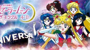 Universal Studios Japan พาคุณผจภัยไปกับนักรบ Sailor Moon ในรูปแบบ 4-D!!