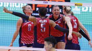 แชมป์เก่าโหด! สหรัฐอัดจีน 3-0 เซต เข้ารอบรองฯ เวิลด์ กรังด์ปรีซ์ 2016