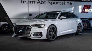 เปิดภาพ Audi A6 Avant ขุมพลังดีเซล 3.0 ลิตร 325 แรงม้า Upgrade โดย ABT