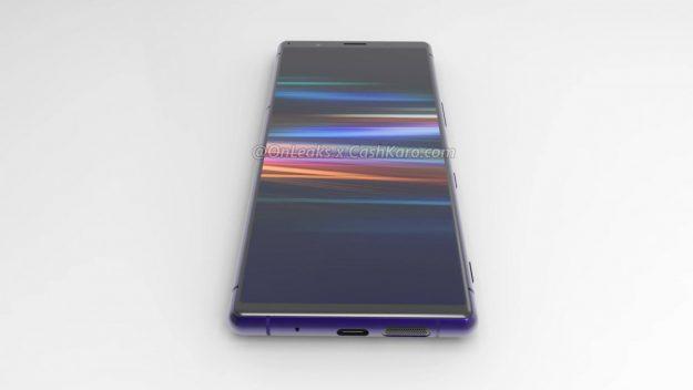 ภาพหลุด Sony Xperia 2 รุ่นใหม่ จอ 6.1 นิ้ว 4K กล้องสามตัว CPU Snap 855