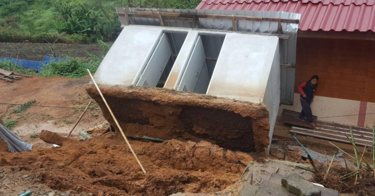 [น้ำท่วมภาคเหนือ] ฝนถล่มน่าน-พะเยาอ่วม ! น้ำไหลหลากที่เชียงราย