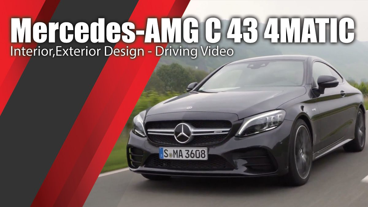 Mercedes-AMG C 43 4MATIC in Graphite grey - Interior,Exterior Design - Driving Video