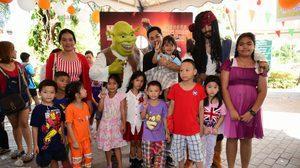 ภาพบรรยากาศ CSR:MONO29 ออกบูธวันเด็ก 2559