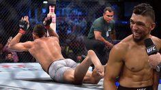 นักสู้ UFC ถึงกับเขิน จะฉลองชัยด้วยท่า 'เวิร์ม' แต่ดันกระดูกไหล่เคลื่อน (คลิป)