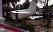 ตรวจสอบเครื่องบินเล็กตกย่านหนองจอก