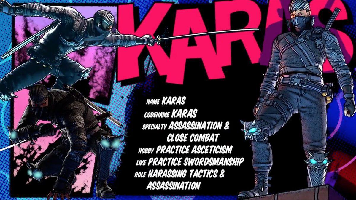 [ตัวอย่างเกม] KARAS The Silent Killer เพชฒฆาตรไร้เงา ตัวละครใหม่ Battle Carnival