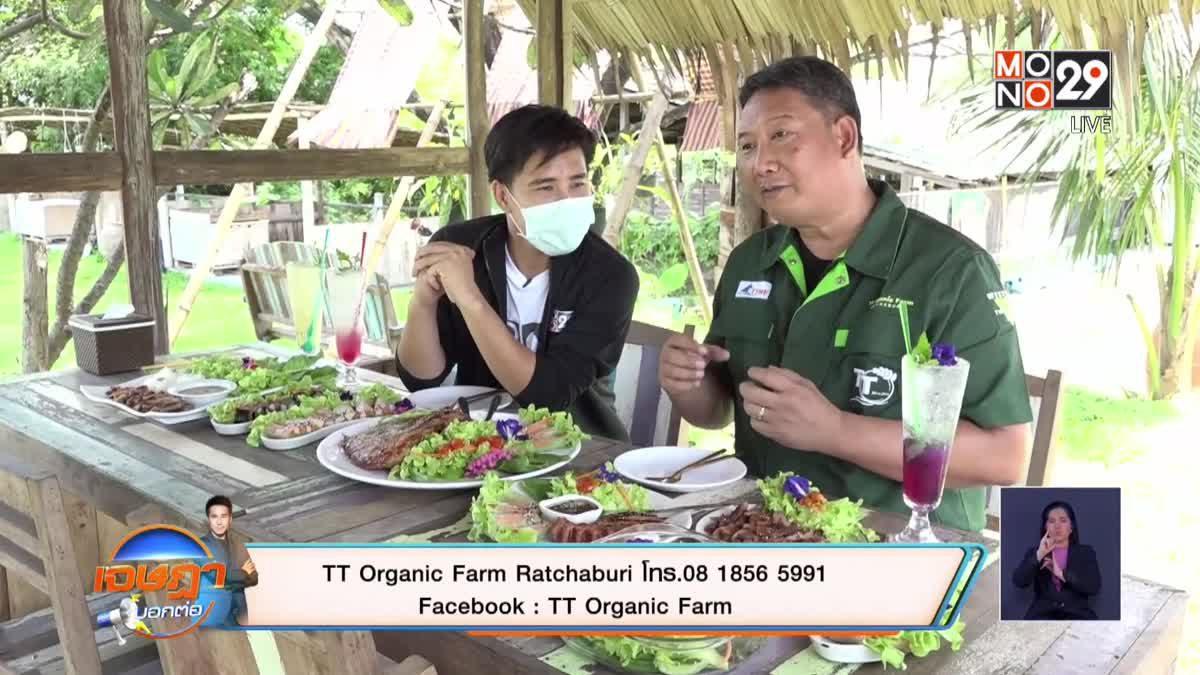 """กินเที่ยวปลอดภัยใส่ใจสุขภาพ  """" TT Organic Farm  Ratchaburi"""""""