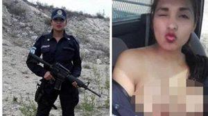 อื้อฉาว ตำรวจหญิงโชว์เต้าถ่ายเซลฟี่คารถตำรวจขณะปฏิบัติหน้าที่