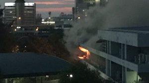 ด่วน! ไฟไหม้สำนักงานใหญ่ การประปาส่วนภูมิภาค แจ้งวัฒนะ