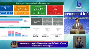 สรุปแถลงศบค. โควิด 19 ในไทย วันนี้ 30/04/2563   11.30 น.