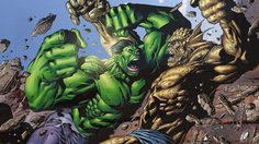 Abomination ศัตรูผู้ครอบครองพลังรังสีแกมม่าเช่นเดียวกับThe Hulk