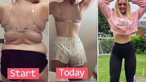 เหตุเกิดมาจากถูกล้อว่าอ้วน! สาวลดน้ำหนัก 65 กก. จนสวยเช้ง เอาชนะพวกขี้ล้อด้วยหุ่นแซ่บ