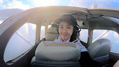 """สวย เก่ง """"เอี๊ยม ปิยธิดา"""" จบวิศวะ มช. เป็นแอร์โฮสเตส สานฝันอาชีพนักบิน"""