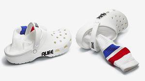 Croc x Alife ตีตลาดสตรีทแวร์ กับ รองเท้าที่มีถุงเท้าแบบบิวท์อิน ยาวแทบครึ่งแข้ง