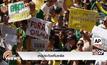 เหตุประท้วงที่บราซิล