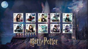 สาวกพ่อมดแฮร์รี่กรี๊ดหนัก แสตมป์ Harry Potter ของสะสมสุดลิมิเต็ด