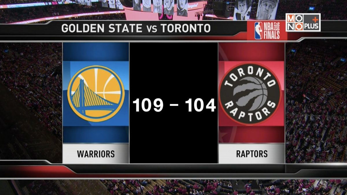 [Highlight] Golden State Warriors VS. Toronto Raptors [Game2]