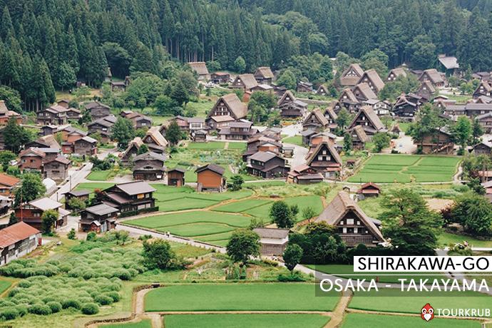 ชิราคาวาโกะ - Shirakawa-go