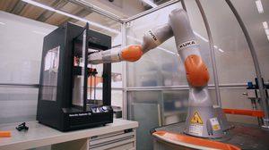 สุดล้ำ เครื่องพิมพ์ 3 มิติ ใช้ผลิตชิ้นส่วนแขนหุ่นยนต์