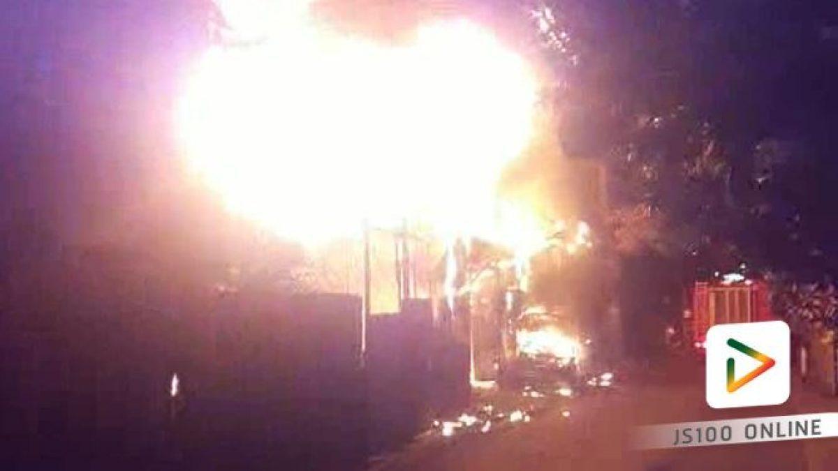 เพลิงไหม้บ้านเรือนประชาชน ภายในซอยจอมทอง14 พื้นที่เขตจอมทอง
