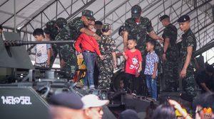 ประมวลภาพ!! งานวันเด็กแห่งชาติ 63 จากเหล่าทัพ จัดเต็มการแสดงยุทโธปกรณ์