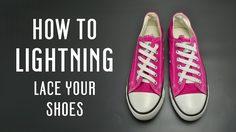 15 วิธี ผูกเชือกรองเท้าแบบเท่ๆ
