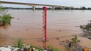 แม่น้ำโขงยังวิกฤต แต่รับมือได้ ด้านเขื่อนแก่งกระจานน้ำเต็มแล้ว สั่งเร่งระบายน้ำ