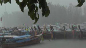 เตือน 6-12 ก.ค. ภาคใต้ยังมีคลื่นลมแรง-ฝนตก เรือเล็กควรงดออกจากฝั่ง