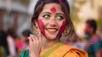 Joyeeta Sanyal สาวอินเดียตาสวย หน้าคม ยิ้มละลาย ในเทศกาลสาดสีฤดูร้อน