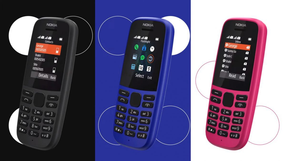 Nokia 105 รุ่นใหม่ ไร้กล้อง รองรับบันทึกรายชื่อได้ถึง 2,000 รายชื่อ และ 500 ข้อความ